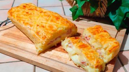 Gateau in crosta: la ricetta saporita e originale