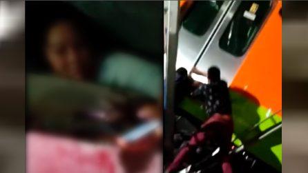 Tragedia Messico, i soccorsi alle persone coinvolte nel crollo del ponte