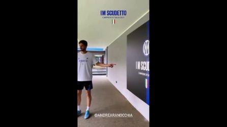 L'Inter festeggia lo scudetto il 5 maggio: Zhang, Conte e i calciatori brindano