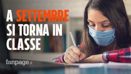 Scuola, tutti gli studenti in classe: la data di inizio prevista per metà settembre