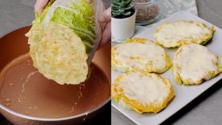 Frittelle di cavolo cinese: l'idea originale da portare in tavola!