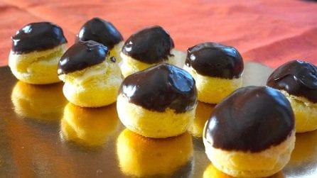 Bignè crema e cioccolato: il dessert ottimo e semplice da preparare