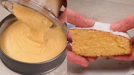 Torta al limone nel frullatore: pronta in pochissimi minuti!
