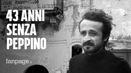 Ucciso dalla mafia perché derideva i boss: 43 anni senza Peppino Impastato