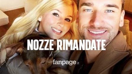 Lo chef Damiano Carrara ha rimandato le nozze con la fidanzata Chiara Maggenti