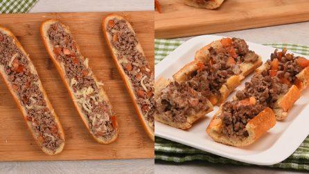 Baguette ripiene al forno: un'idea semplice e piena di gusto!