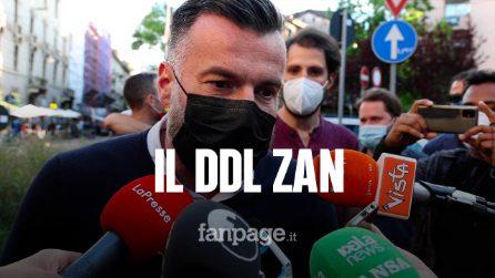 """Zan a Milano contro omofobia: """"Grato a Fedez per impegno, su diritti umani no differenze di partito"""""""