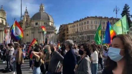 Ddl Zan, la manifestazione nazionale a Roma