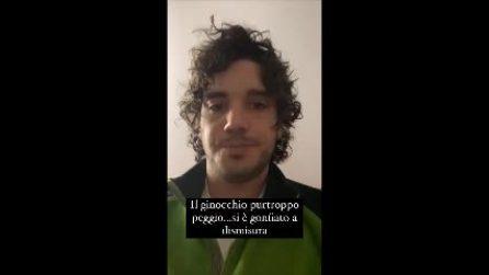 Incidente per Gianluca De Matteis: il tronista si fa male a un ginocchio