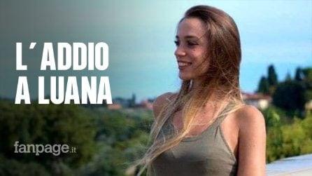 Funerali Luana D'Orazio, morta sul lavoro: lungo applauso accompagna il feretro in chiesa