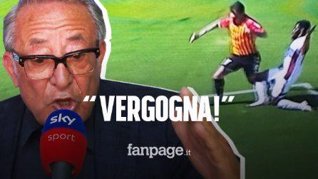 """Il duro sfogo di Vigorito: """"Quando si vuole ammazzare una squadra del Sud al Var c'è Mazzoleni"""""""