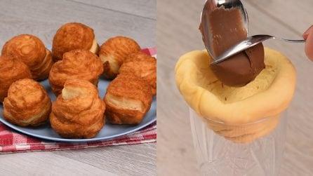 Sfogliatelle con cuore al cioccolato: perfette per tutte le occasioni!