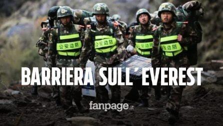 """Una """"barriera"""" contro il coronavirus sul Monte Everest: è l'incredibile idea promossa dalla Cina"""