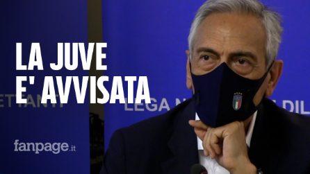 """Superlega, Gravina (FIGC): """"Se la Juve non condivide principi UEFA è fuori dal campionato"""""""