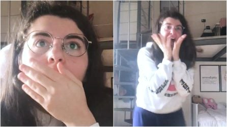 Filma il momento in cui scopre di essere entrata all'università: la reazione da brividi di Martina