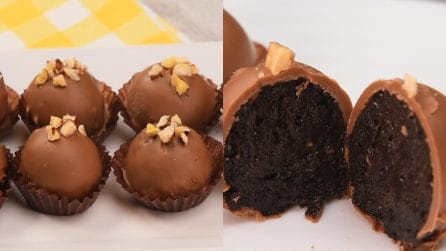 Oreo and chocolate truffles: super easy and quick to prepare!