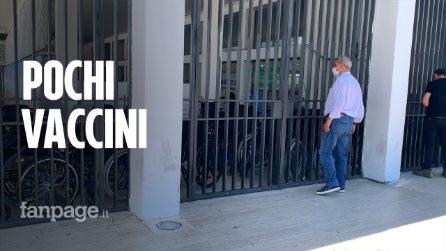 """Chiusi hub vaccinali a Napoli, Unità di Crisi: """"Solo per questioni organizzative"""""""
