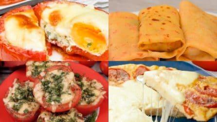 4 Ricette sfiziose per un secondo leggero e gustoso a base di pomodori