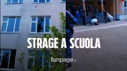Strage in una scuola in Russia, 11 morti e più di 30 feriti. Arrestato 17enne