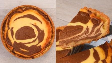 Zebra cheesecake: the amazing dessert really easy to make!