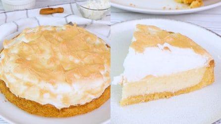 Cheesecake meringata: la delizia da provare assolutamente!
