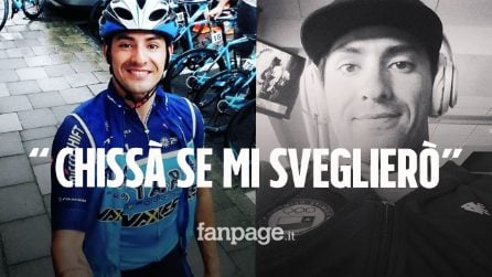 """Cristopher Mansilla muore di Covid a 30 anni, l'ultimo post del ciclista: """"Chissà se mi sveglierò"""""""