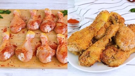 Crispy chicken legs: how to make them delicious in a few steps!