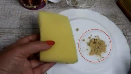 Come sbiancare i piatti con la farina di semola