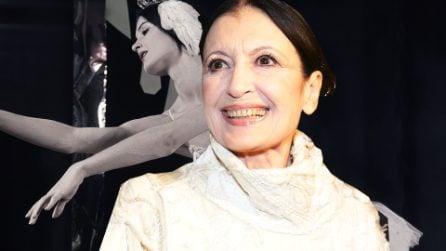 """Addio a Carla Fracci, la regina della danza: """"Il ballo è sentimento, armonia e stile"""""""
