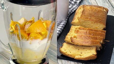 Plumcake frullato all'arancia: il dolce soffice e profumato pronto in pochi passi!