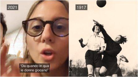 """""""Da quando in qua le donne giocano"""": 104 anni fa nasceva la prima squadra di calcio femminile"""