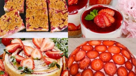 4 Ricette golose che puoi fare con le fragole!