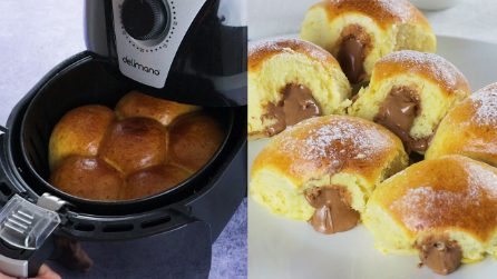 Air fryer soft milk buns: how to make them fluffy and tasty