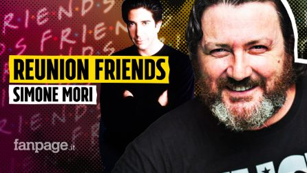 """Simone Mori, voce di Ross in Friends: """"Facevamo il tifo per lui e Rachel"""""""