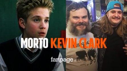 "Morto Kevin Clark, era Freddy ""Spazzy McGee"" Jones nel film School of Rock"