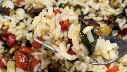 Riso con verdure: la ricetta del piatto fresco, veloce e squisito
