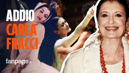 È morta Carla Fracci, la regina della danza italiana si è spenta a 84 anni