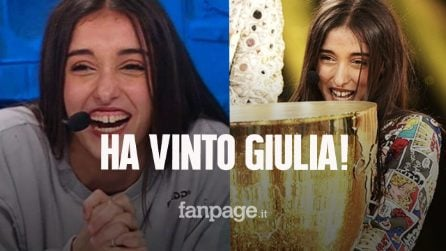 Amici 2021, Giulia Stabile è la vincitrice: ha battuto il fidanzato Sangiovanni