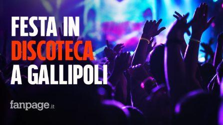 Festa in discoteca a Gallipoli con 2000 persone: l'esperimento per riaprire