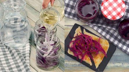 Cipolle rosse sott'aceto: la conserva da preparare passo passo!
