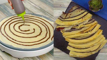 Crepes colorate: l'idea sfiziosa per preparare il tuo dolce preferito!
