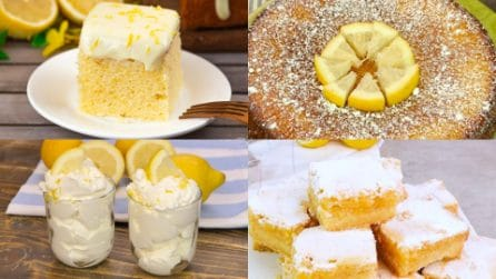 12 ricette golose che puoi preparare con dei semplici limoni!