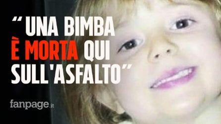 """""""È morta una bambina piccola, è qui sull'asfalto"""". Priscilla uccisa in un incidente stradale"""