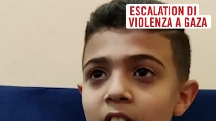 """Bimbi palestinesi raccontano i bombardamenti nella Striscia di Gaza: """"Perché sta succedendo a noi?"""""""