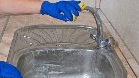 Come rimuovere il calcare dal rubinetto