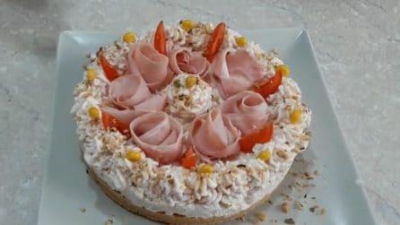 Cheesecake salata al prosciutto cotto: la ricetta originale e gustosa