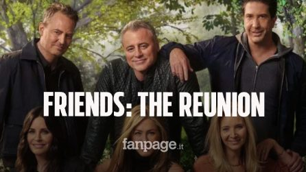Friends: The Reunion in onda su Sky e in streaming su NOW in contemporanea con la HBO americana