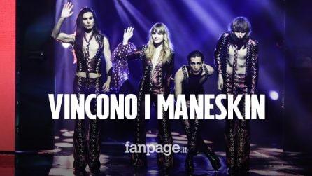 I Maneskin vincono l'Eurovision Song Contest 2021: l'Italia sul tetto d'Europa