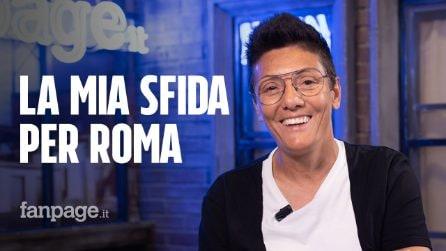 """Primarie Roma, Imma Battaglia: """"Roma si salva se l'amiamo tutte e tutti, non serve il supereroe"""""""