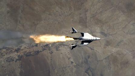 Lo spettacolare volo della VSS Unity di Virgin: il turismo spaziale è vicino